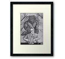 Werewolf gourmet Framed Print