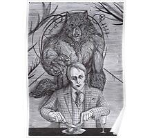 Werewolf gourmet Poster