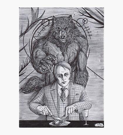Werewolf gourmet Photographic Print