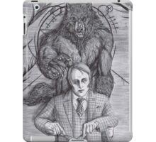 Werewolf gourmet iPad Case/Skin