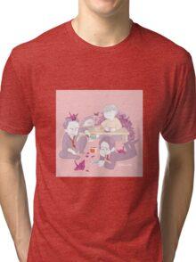 Dojima Family Bonding Time Tri-blend T-Shirt