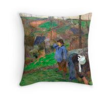 1888 - Gauguin - Landscape of Brittany Throw Pillow