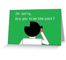 Technical Support Greeting Card