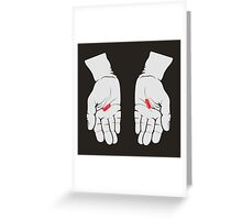 Red Pill, Red Pill Greeting Card