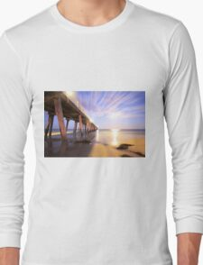 Grange Jetty South Australia Long Sleeve T-Shirt