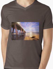 Grange Jetty South Australia Mens V-Neck T-Shirt