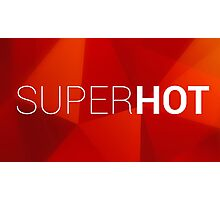 Super Hot Logo Photographic Print