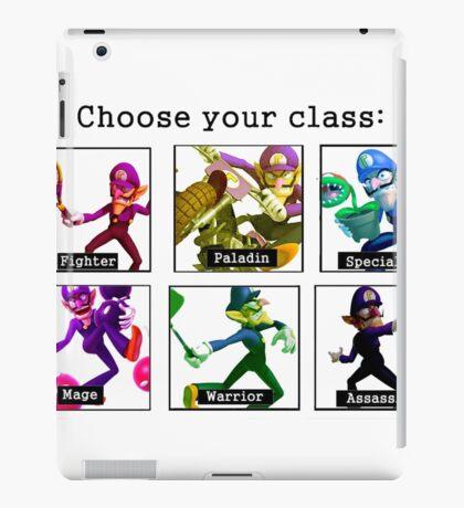 Waluigi Class iPad Case/Skin