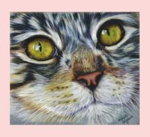 Blink Macro Cat Painting One Piece - Long Sleeve