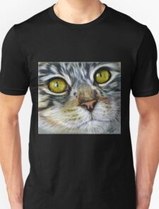 Blink Macro Cat Painting Unisex T-Shirt