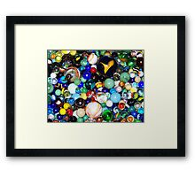 Lost My Marbles Framed Print