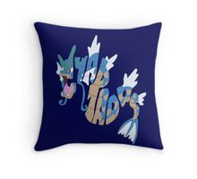 gyarados Throw Pillow