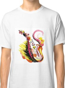 Crazy saxophone Classic T-Shirt