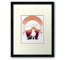 Moon Boss Framed Print