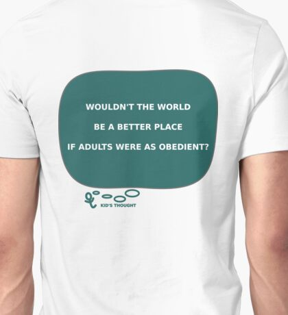 Kid'S THOUGHT - Adults Unisex T-Shirt
