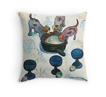 1888 - Gauguin - Still Life with Three Puppies Throw Pillow
