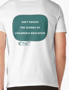 Kid'S THOUGHT - Education Mens V-Neck T-Shirt