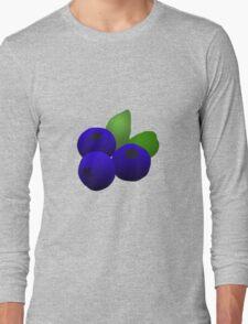 Blueberries Long Sleeve T-Shirt