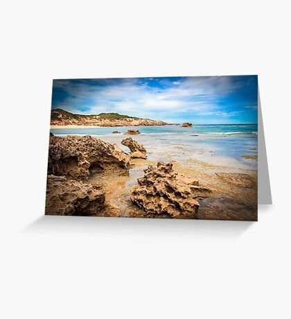 Sorrento Seascape Greeting Card