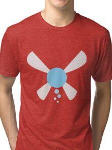 Minimalist Navi Tri-blend T-Shirt