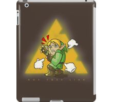 Wrong Link iPad Case/Skin
