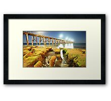 Port Noarlunga Jetty - South Australia Framed Print