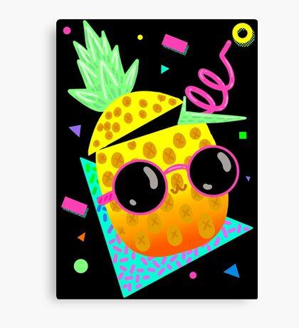 Piña Coolada Canvas Print