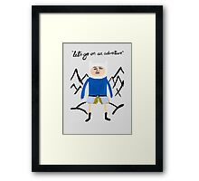 Finley the Adventurer Framed Print