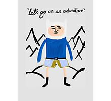 Finley the Adventurer Photographic Print