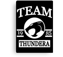 Team Thundera Canvas Print