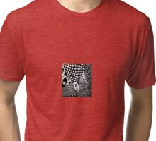 The angry chess man Tri-blend T-Shirt
