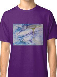 Waterspouts, Tornadoes at Sea - Original Wall Modern Abstract Art Painting Original mixed media  Classic T-Shirt