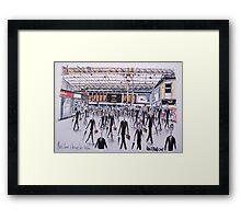 Charing Cross Railway Station, London England Framed Print