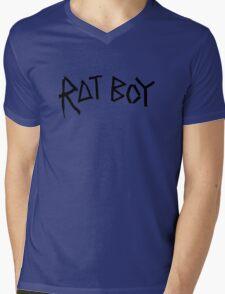 RAT BOY Mens V-Neck T-Shirt