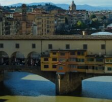 The Bridges of Florence, Italy Sticker