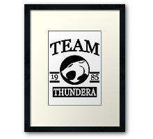 Team Thundera Framed Print