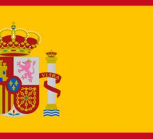 Flag of Spain Sticker