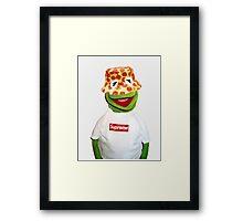 Kermit Supreme (Clean) Framed Print