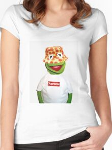 Kermit Supreme (Clean) Women's Fitted Scoop T-Shirt