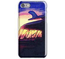Night Surf iPhone Case/Skin