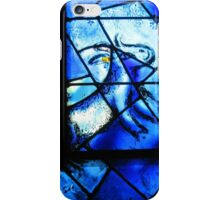 Stained glass window of Chagall - 1 iPhone Case/Skin
