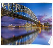 Magnificient Sydney Harbour Bridge Poster