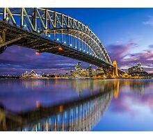 Magnificient Sydney Harbour Bridge Photographic Print