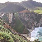 Bixby Bridge - Big Sur - California USA by TonyCrehan