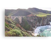 Bixby Bridge - Big Sur - California USA Canvas Print