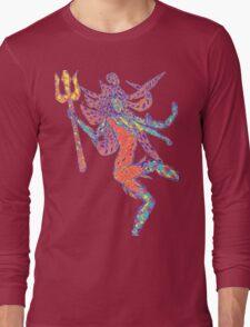 Psychedelic Bholenath Long Sleeve T-Shirt