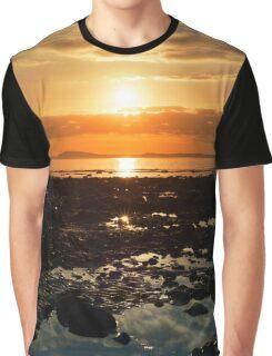 dark reflections at rocky beal beach Graphic T-Shirt