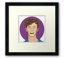 Troye Sivan (brush test) Framed Print