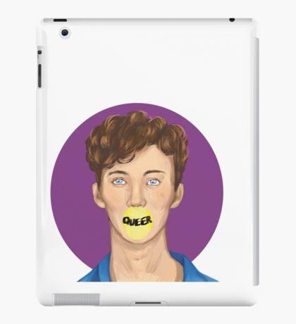 Troye Sivan (brush test) iPad Case/Skin