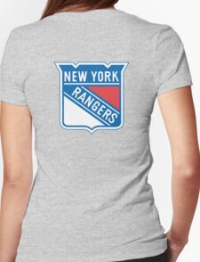 New York Rangers Womens Fitted T-Shirt